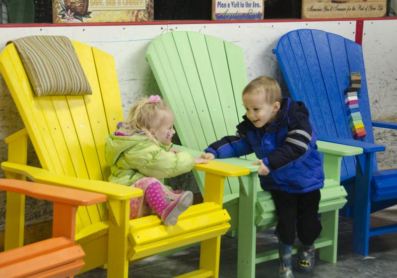 There Was Something For Everyone At Habitat For Humanityu0027s Second Annual Home  And Garden Show. Twins Madeline And Will Heaney, 3, Enjoyed Some Colorful  Lawn ...