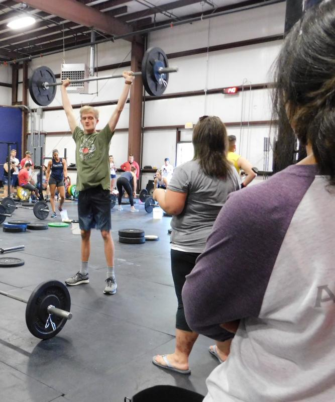 Crossfit competition features tritown talent sippican