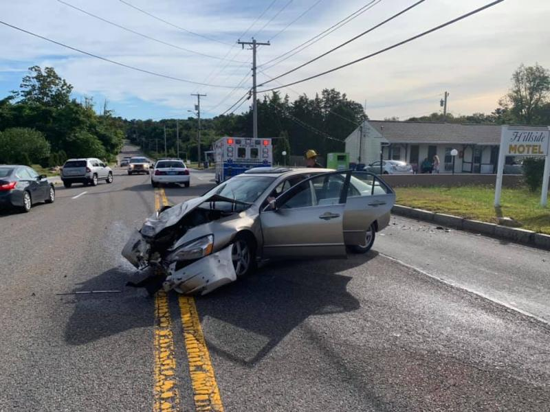 Car crash on Route 6 in Mattapoisett sends multiple people